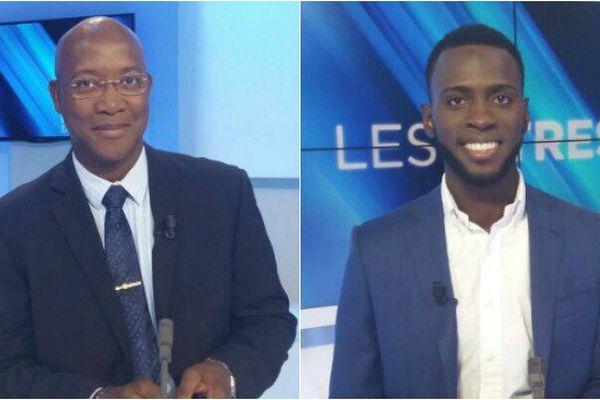 Gabriel Serville et Lénaïck Adam sont élus députés de Guyane.