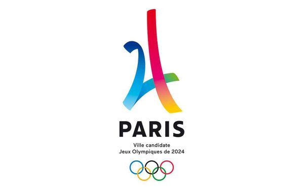 Logo officiel Paris 2024