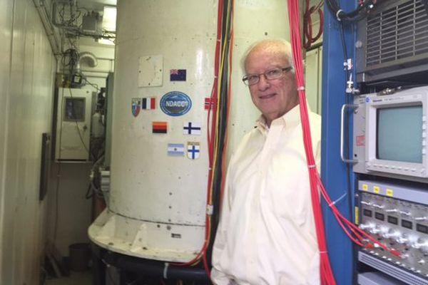 Tom Mc Gee, chercheur à la NASA