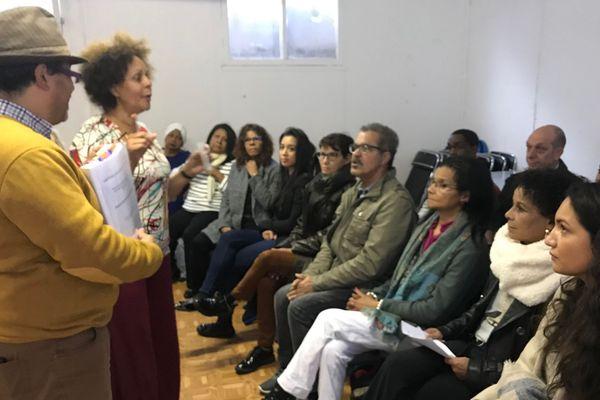 """Conférence de presse des Réunionnais """"dits"""" de la Creuse"""