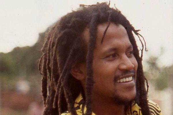 Le chanteur de seggae Kaya