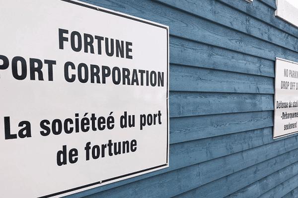 Pancarte port de Fortune