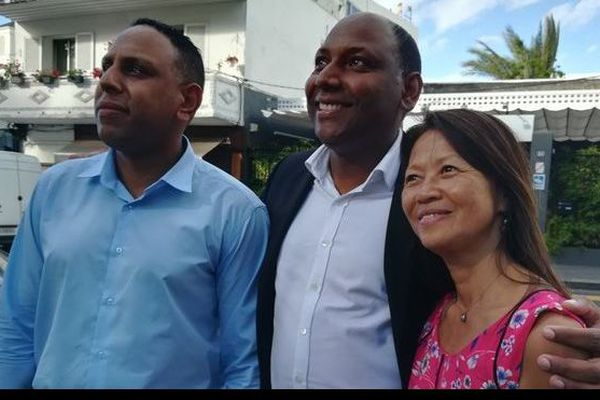 Pierrick Robert Thierry Robert et Marie-Rose Won-Fah-Hin, dépot candidature election legislative partielle 310818