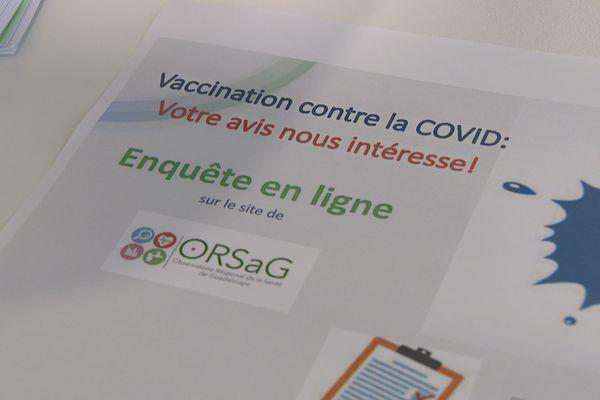 Enquête sur la vaccination de l'ORSAG (mai 2021)