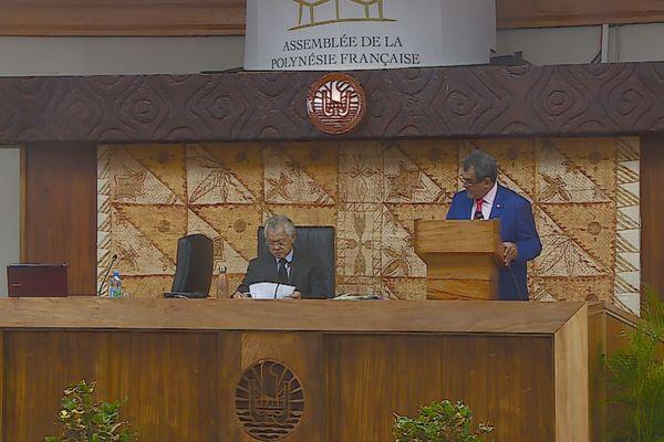 Assemblé de la Polynésie, session administrative
