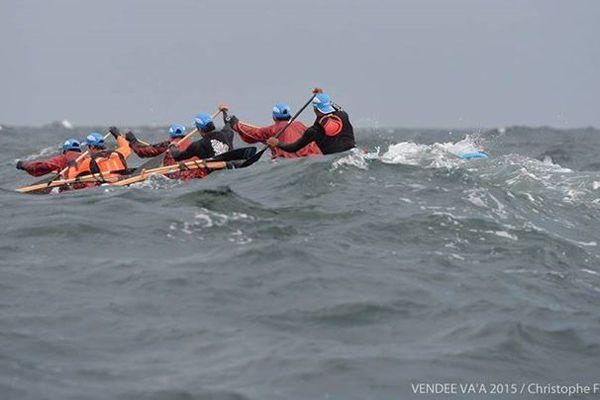 Vendée Va'a : déjà à l'eau, quoi !