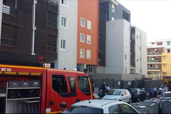 Incendie résidence Chambly Saint-Denis