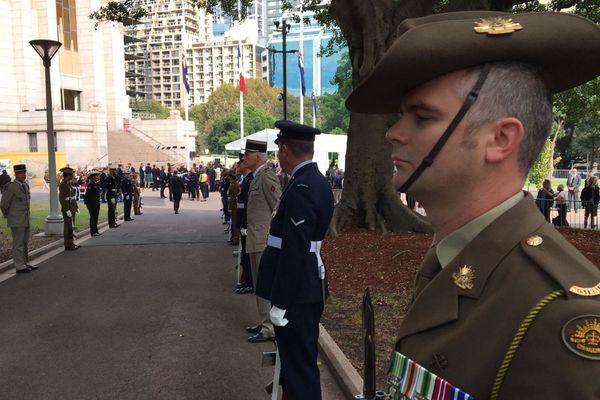 Australie : remise de la Légion d'Honneur (2)