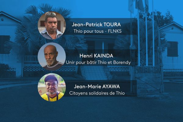 Candidats second tour municipales Thio