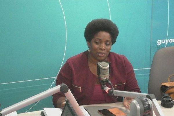 Mylène Mathieu du mouvement Péyi Guyane