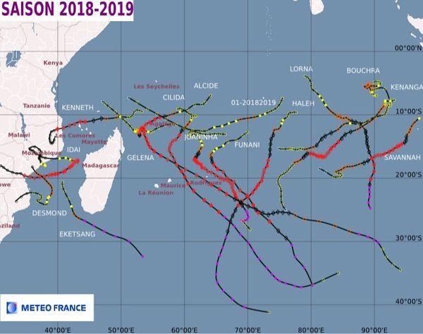 saison cyclonique 2018-2019