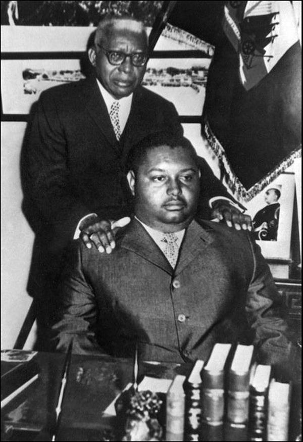 Duvalier et son père