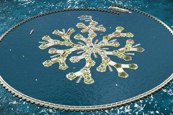 Le gouvernement intéressé par un projet d'île flottante
