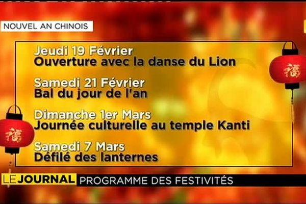 programme Nouvel an chinois 2015