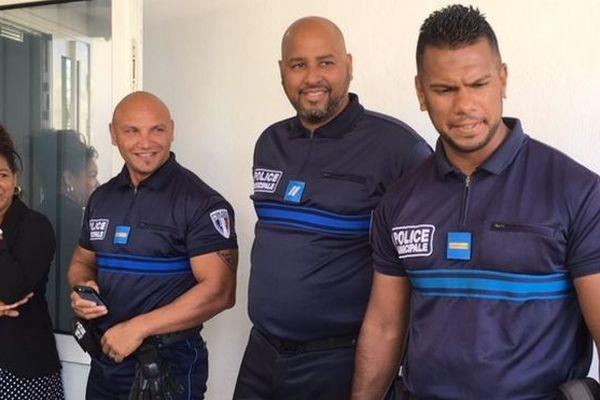 Policiers municipaux du Port