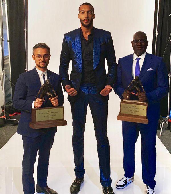 Bouna Ndiaye, l'agent de basketteurs numéro un en France.