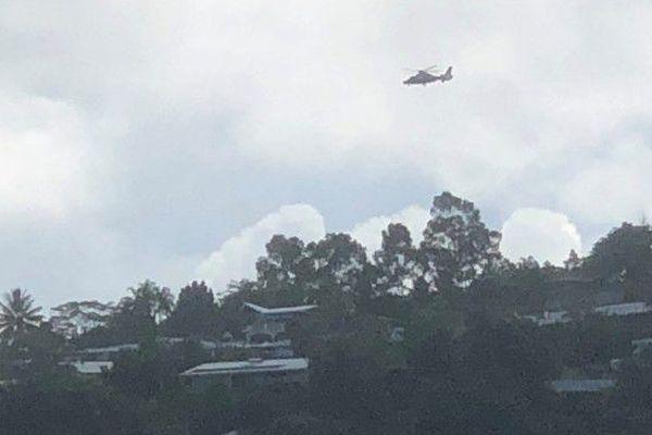 Opération de surveillance aérienne pour la gendarmerie