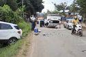 Impressionant accident de la circulation ce samedi après-midi à Tsoundzou II