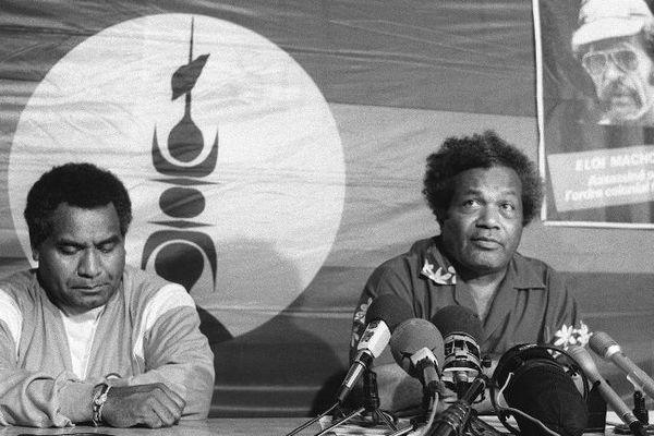 Yeiweiné Yeiweiné et Jean-Marie Tjibaou