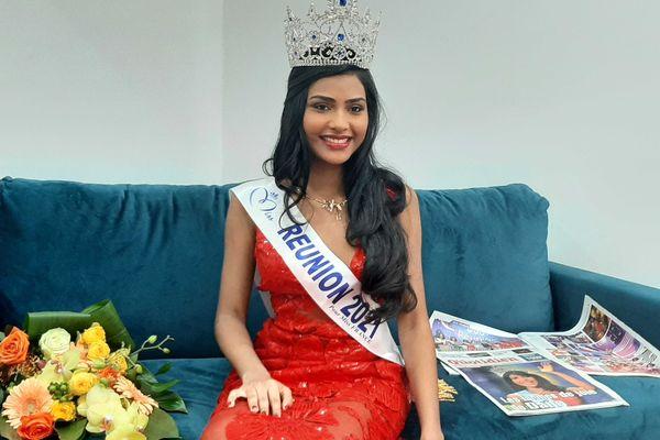Miss Réunion 2021 Dana Virin