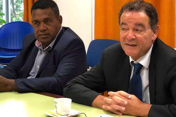 Bilan du séjour de Jean-Paul Moatti, avec Edouard Hnawia, 4 décembre 2018