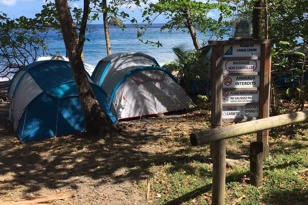 Camping Prêcheur Anse Céron