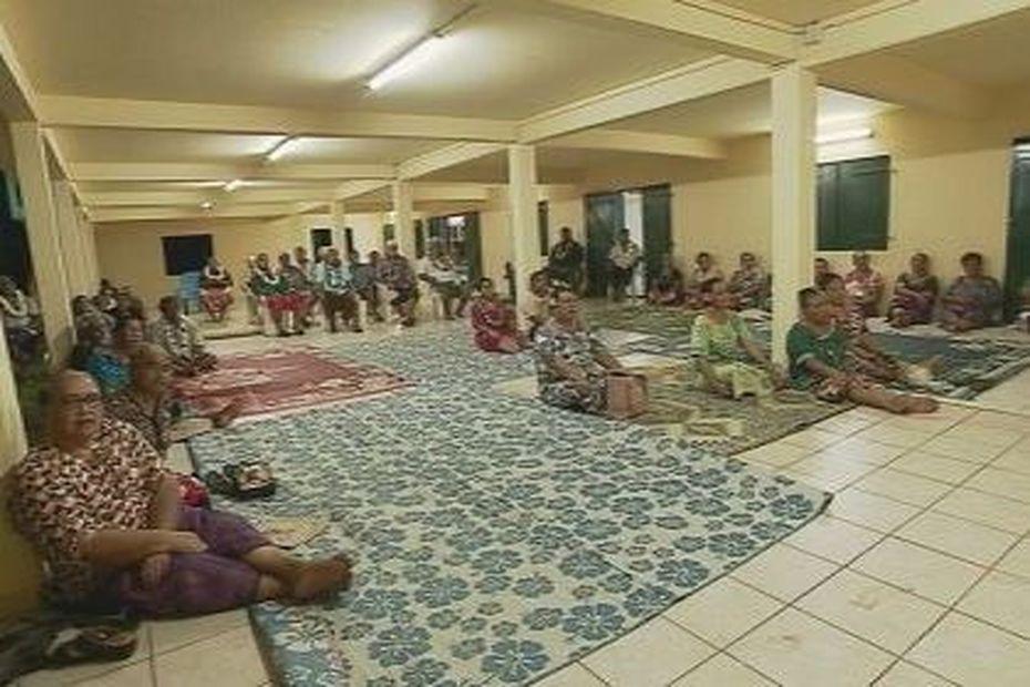 Une réunion d'information organisé par la chefferie de Wallis pour mieux combattre le coronavirus - Wallis-et-Futuna la 1ère