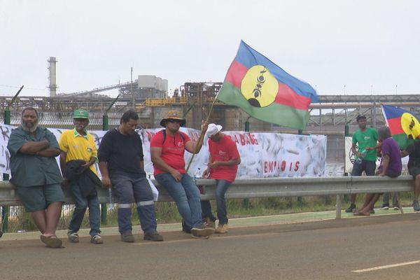 A Goro, une marche de soutien au projet de la Sofinor