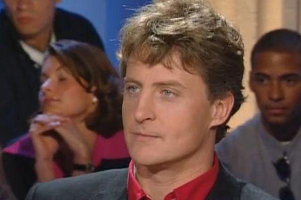 """Laurent Bourgnon dans l'émission """"Tout le monde en parle"""" en octobre 1999"""