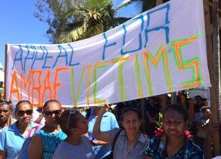 Eruption du Lombenben à Ambae: solidarité à Port-Vila 2 (29 septembre 2017)