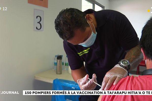 150 pompiers formés à la vaccination