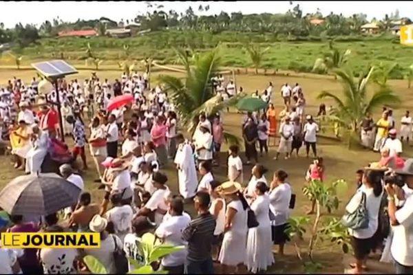 Assomption : 200 fidèles à Hitiaa