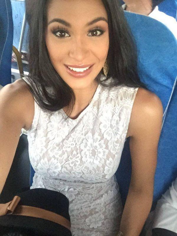 Hinarere et son groupe Miss World 2015 - sur la route vers Hainan - Jour 7