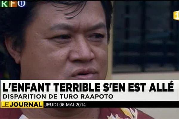 La Polynésie pleure Turo Raapoto