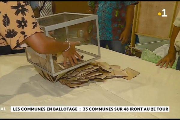 Municipales : ballotages dans 33 communes sur 48