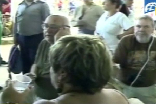 Blessés français à Cuba