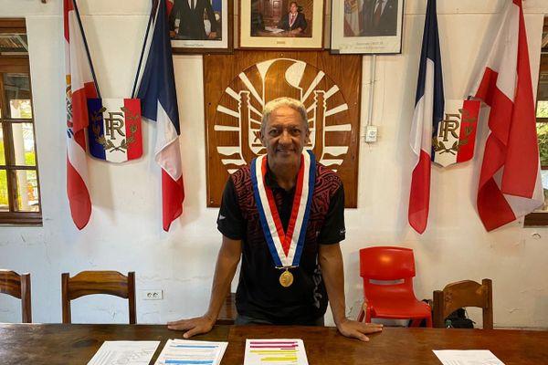 Gaston Tunoa élu maire de Papara