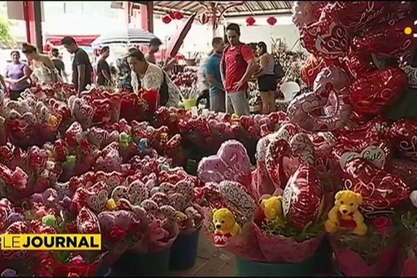 Le business de la St Valentin