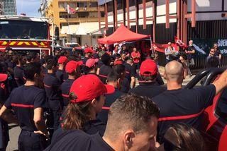 Pompiers en colère