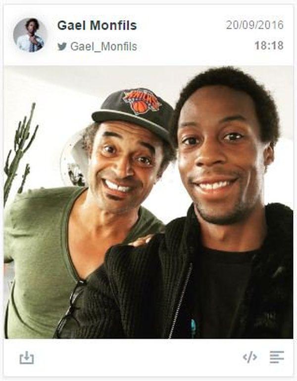 Tennis : Fin de la discorde entre l'Antillais Gaël Monfils et le capitaine Yannick Noah