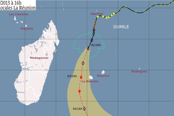 Dumile est à 420 km de La Réunion
