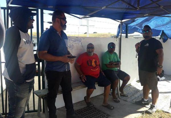 Piquet de grève Tanéo, dépôt Néobus, intersyndicale, 2 juillet 2020