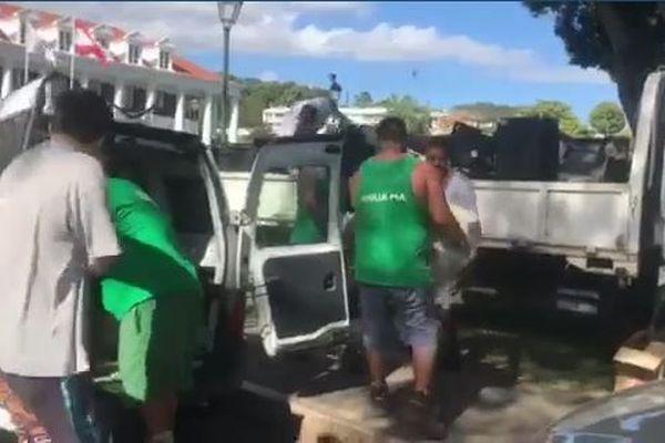 Collecte déchets informatiques