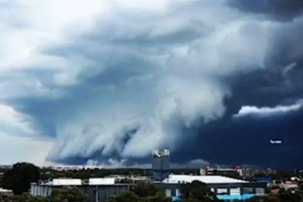 mur nuages Australie