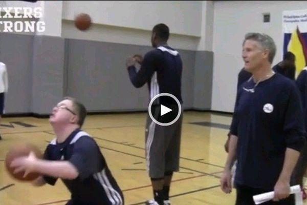 Kevin Grow trisomique basket