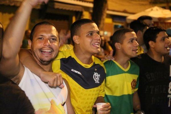 joie supporters brésil