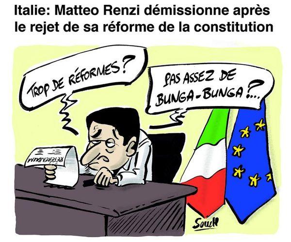 Souch sur Matteo Renzi