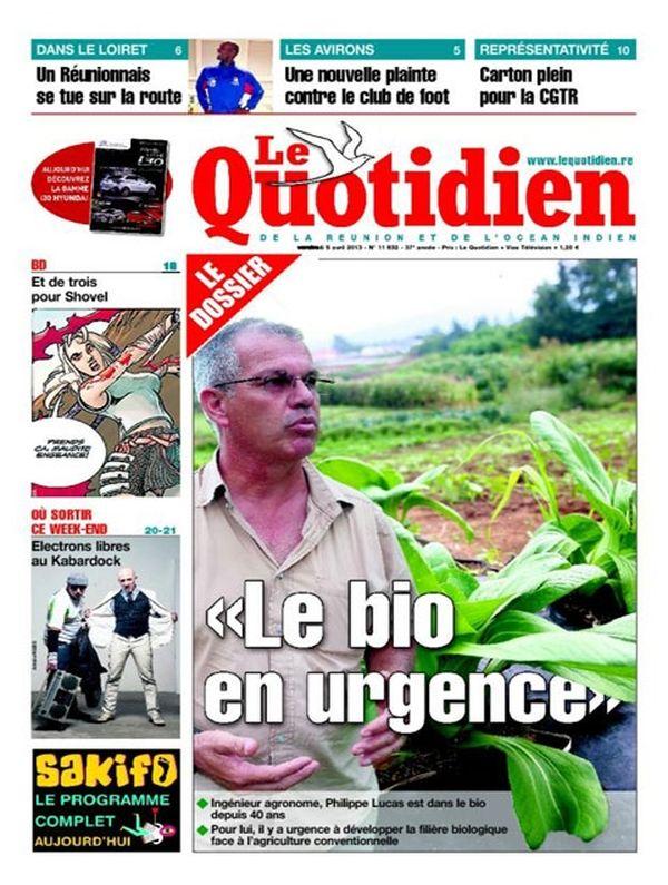 Une Quotidien 5 avril