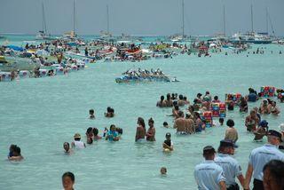 Arrivée Hawaiki nui à Bora Bora