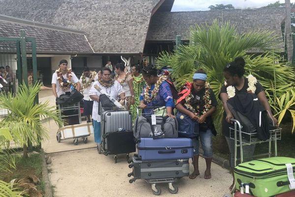 Les délégations de Calédonie et Tonga sont arrivées à Wallis